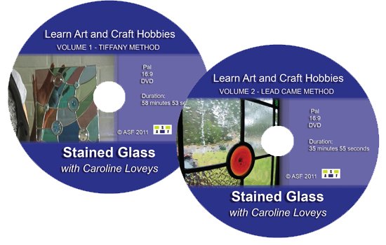Stained Glass Volume 1 and 2 DVD's